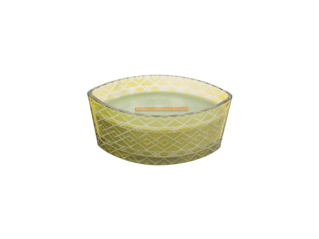 Svíčka WoodWick dekorativní váza Košík jablek 453,6 g