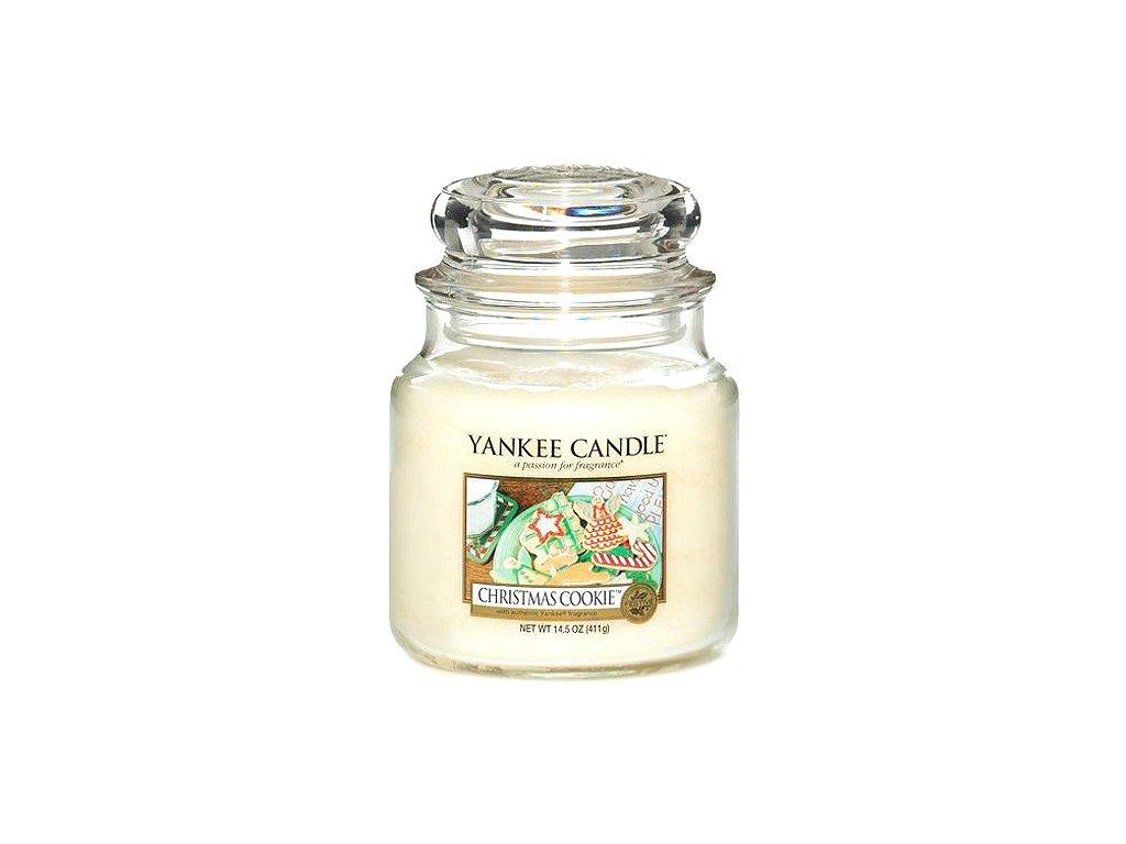 Yankee Candle Vánoční cukroví, 410 g classic střední