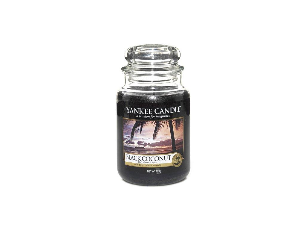 Yankee Candle Černý kokos, 623 g classic velký