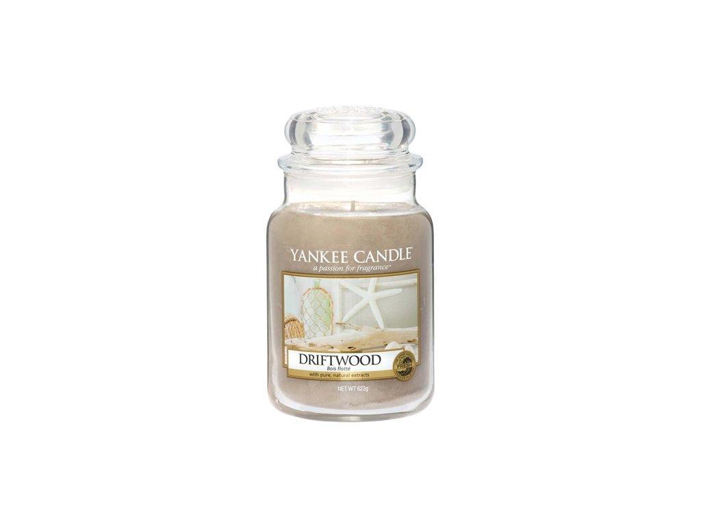 Yankee Candle Naplavené dřevo, 623 g classic velký