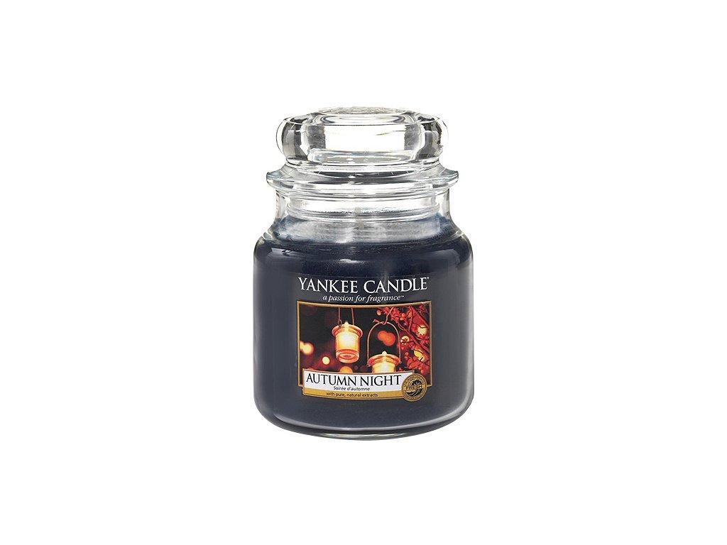 Yankee Candle Podzimní noc, 410 g classic střední