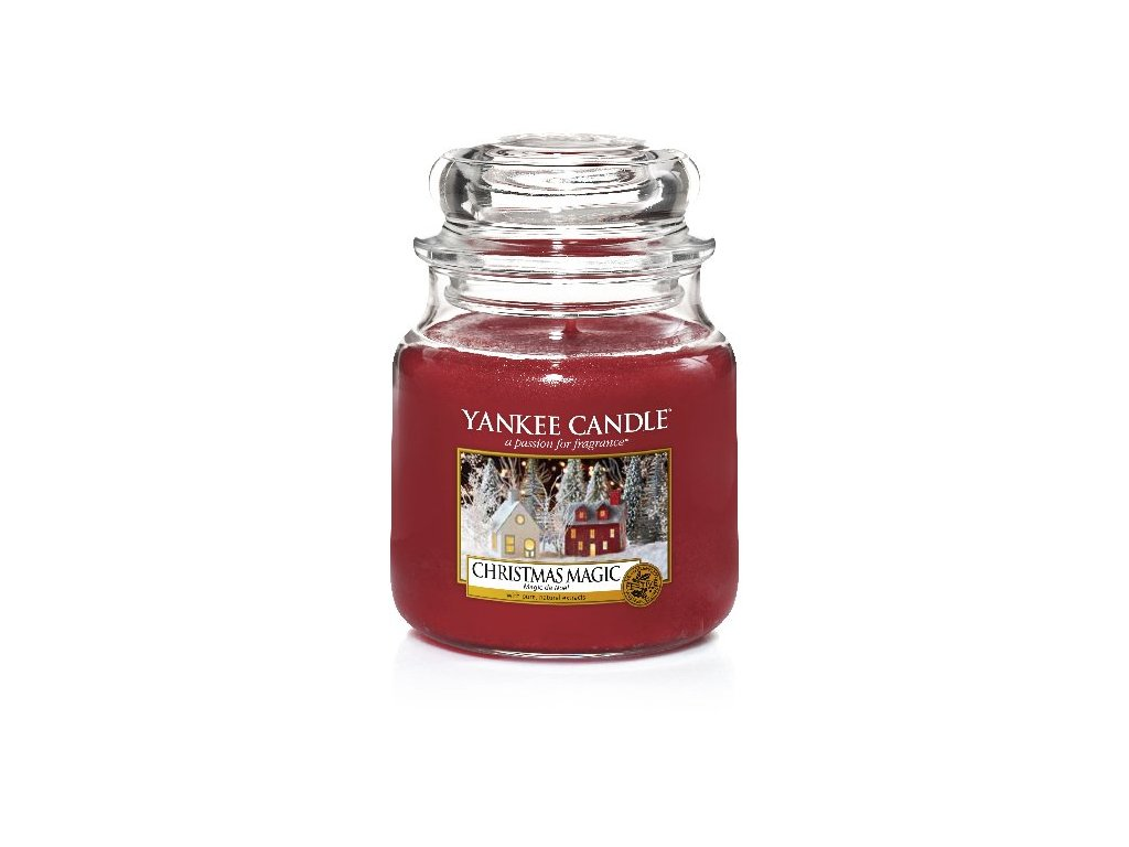 Yankee Candle Kouzlo Vánoc Christmas Magic, 410 g classic střední