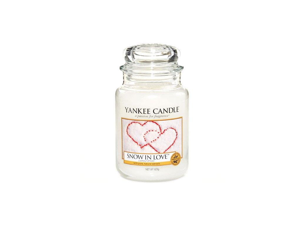 Yankee Candle Snow in love, 623g classic velký