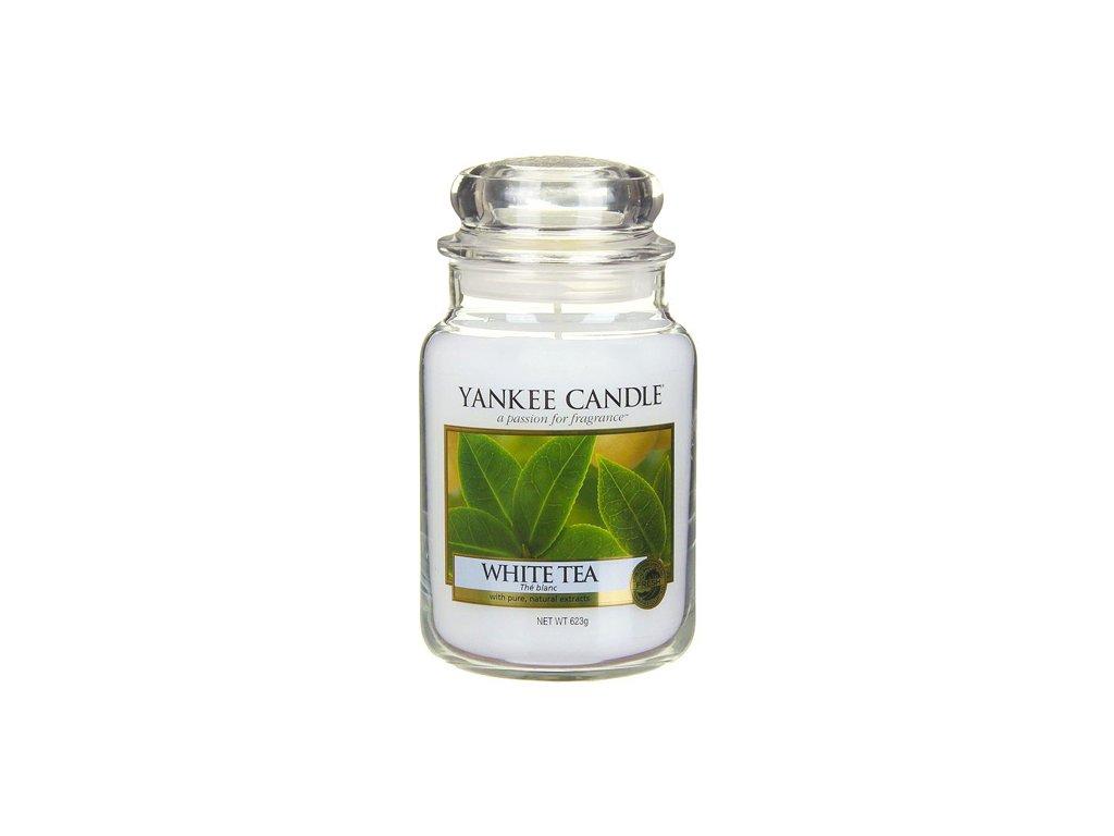 Yankee Candle Bílý čaj, 623 g classic velký