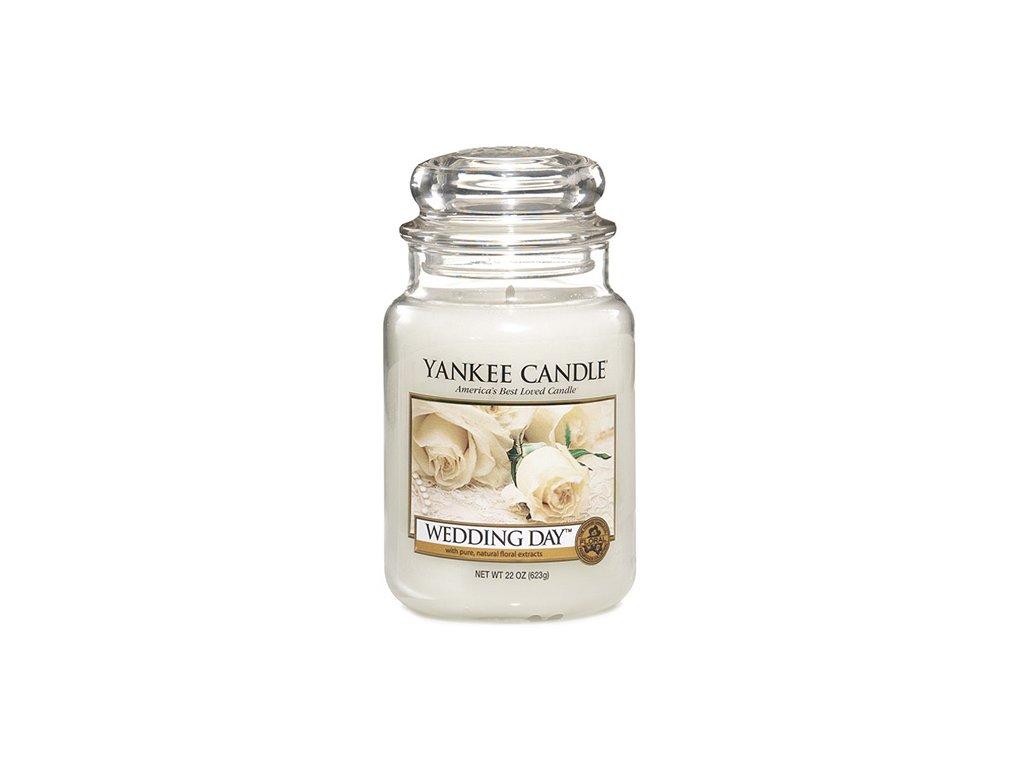 Yankee Candle Svatební den, 623 g classic velký