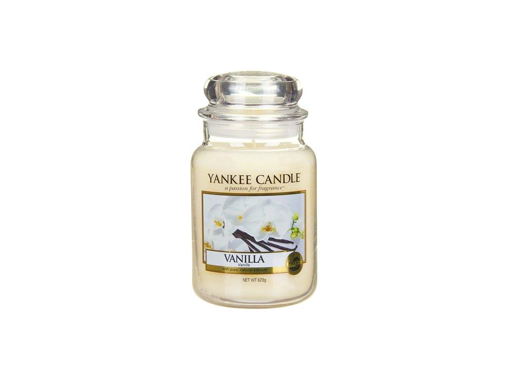 Yankee Candle Vanilka, 623 g classic velký