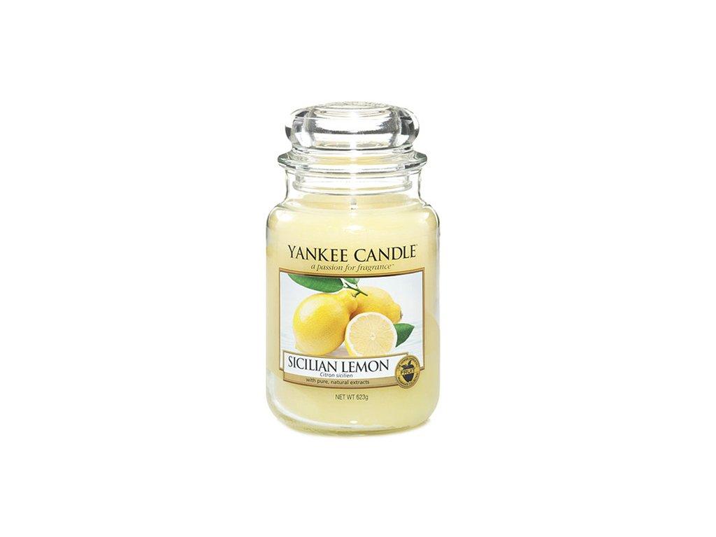 Yankee Candle Sicilský citrón, 623 g classic velký