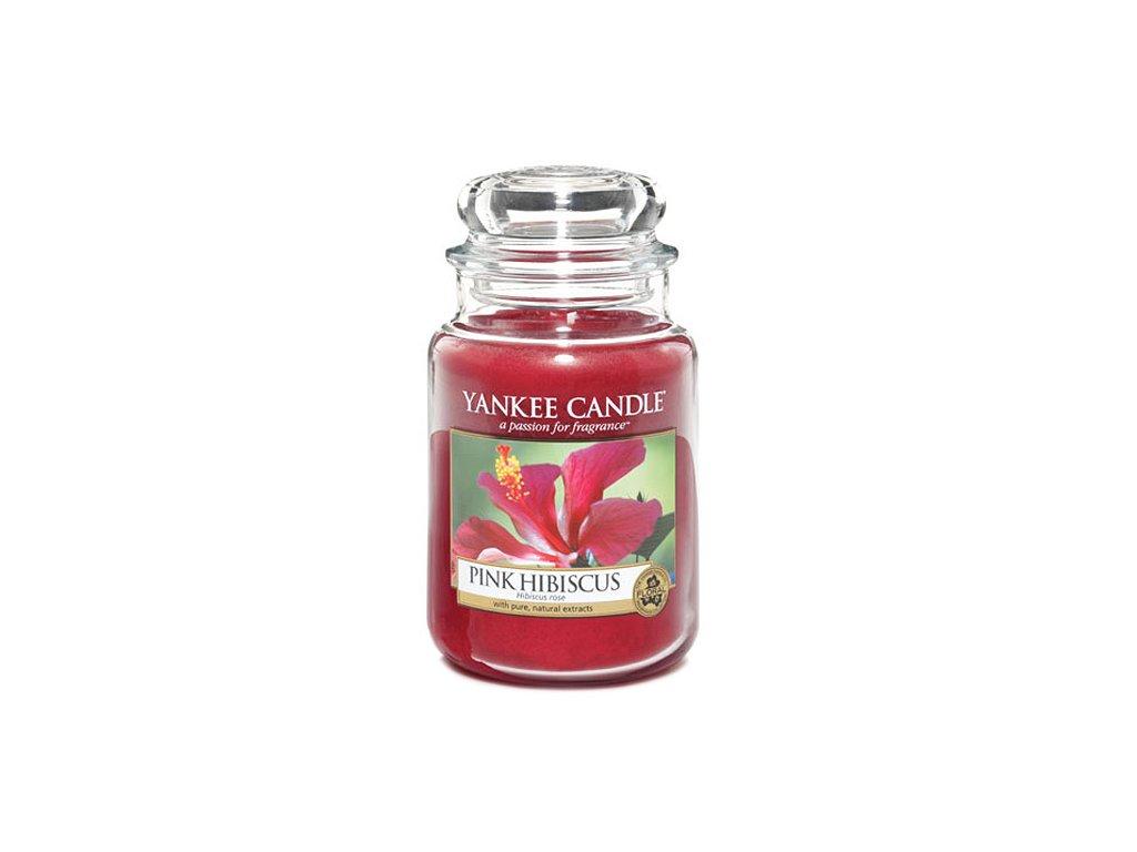 Yankee Candle Růžový ibišek, 623 g classic velký