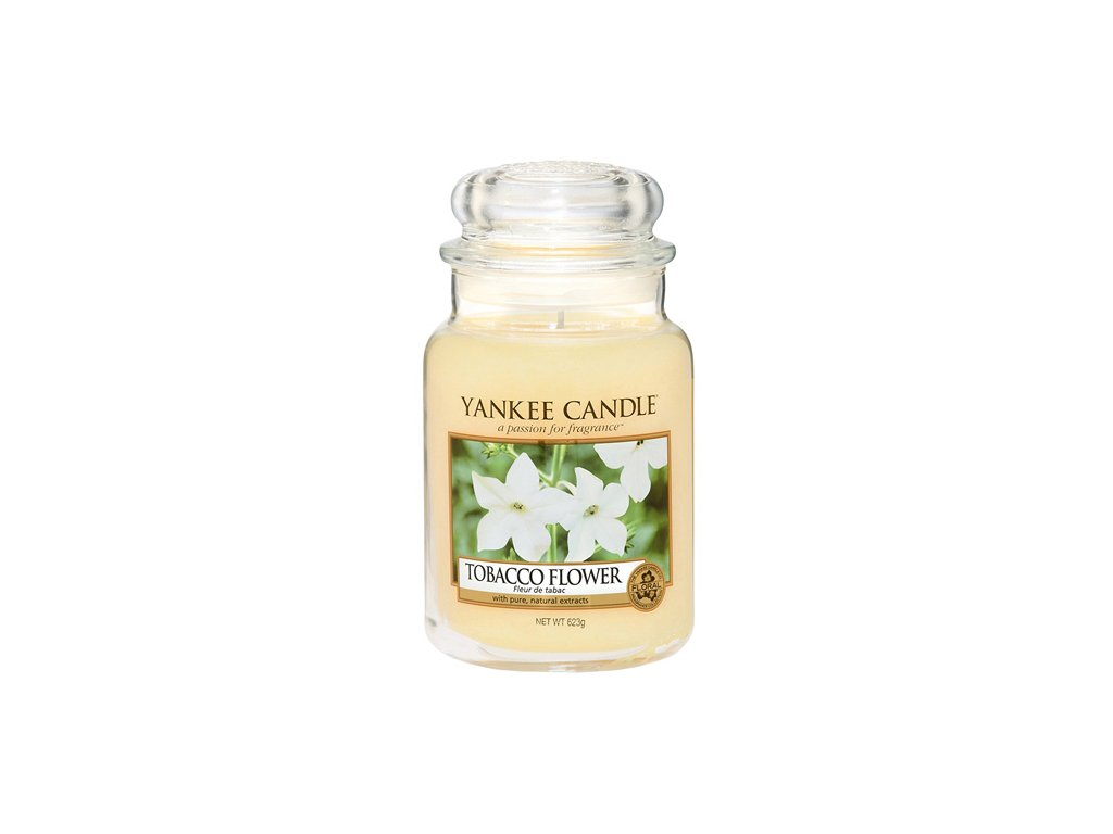 Yankee Candle Tobákový květ, 623 g classic velký