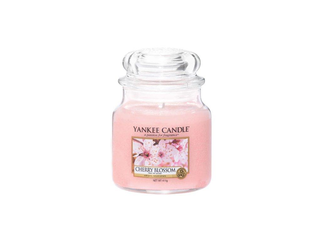 Yankee Candle Třešňový květ, 410 g classic střední