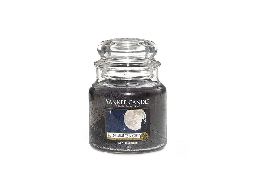 Yankee Candle Letní noc, 410 g classic střední
