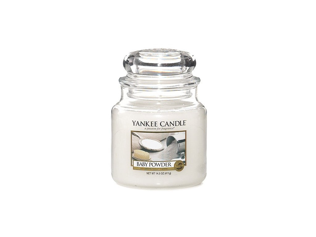 Yankee Candle Dětský pudr, 410 g classic střední