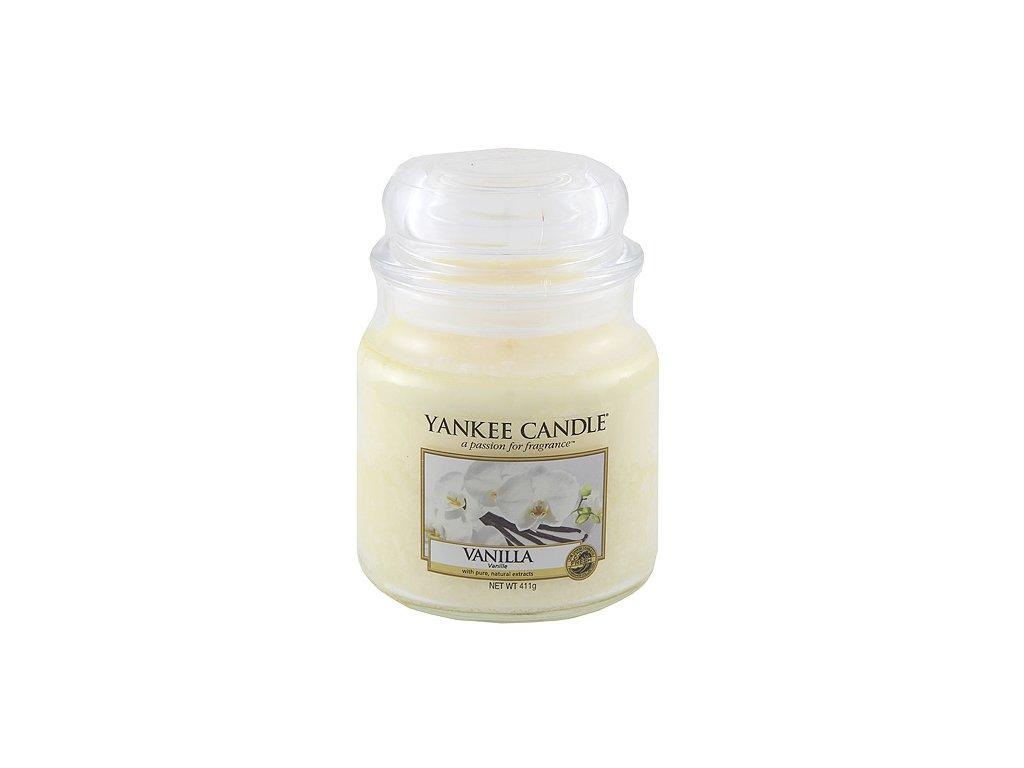 Yankee Candle Vanilka, 410 g classic střední