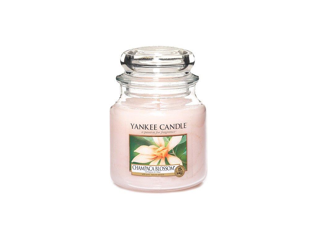 Yankee Candle Květ magnólie champaca, 410 g classic střední