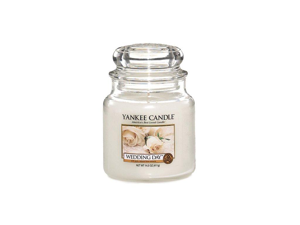Yankee Candle Svatební den, 410 g classic střední