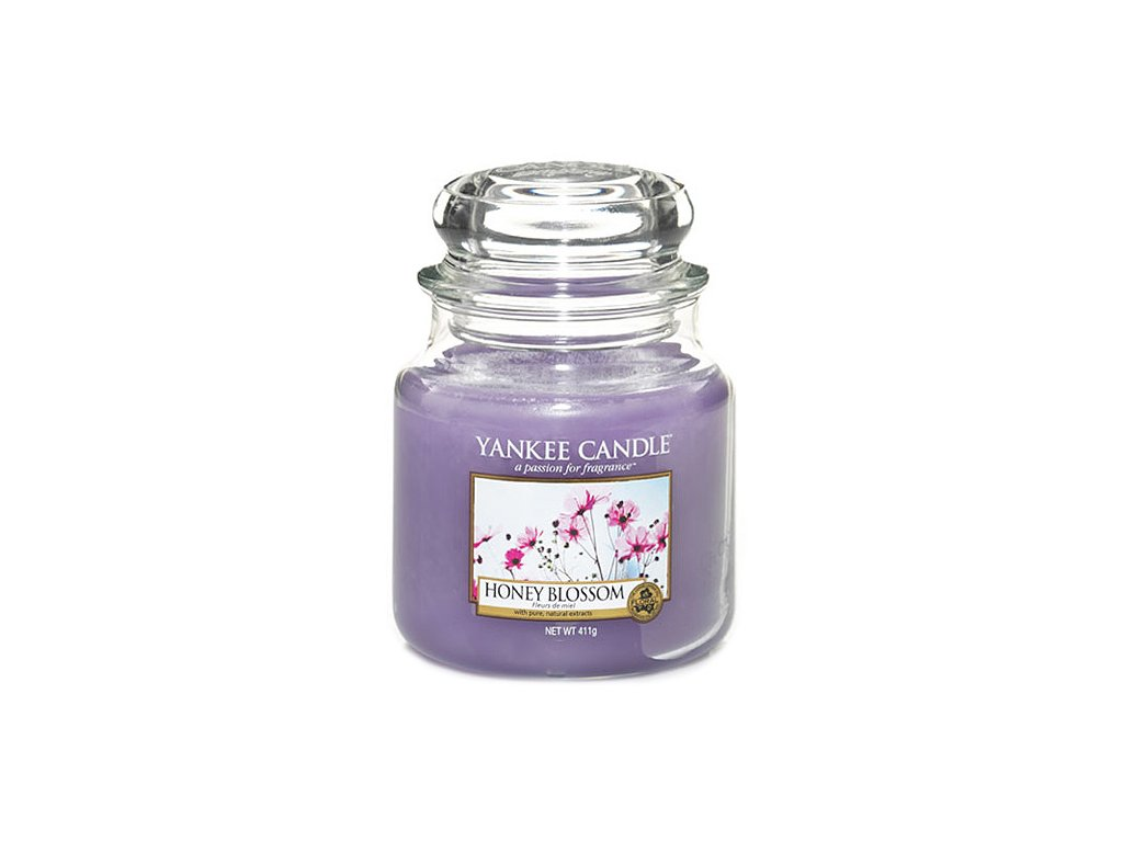 Yankee Candle Medový kvítek, 410 g classic střední