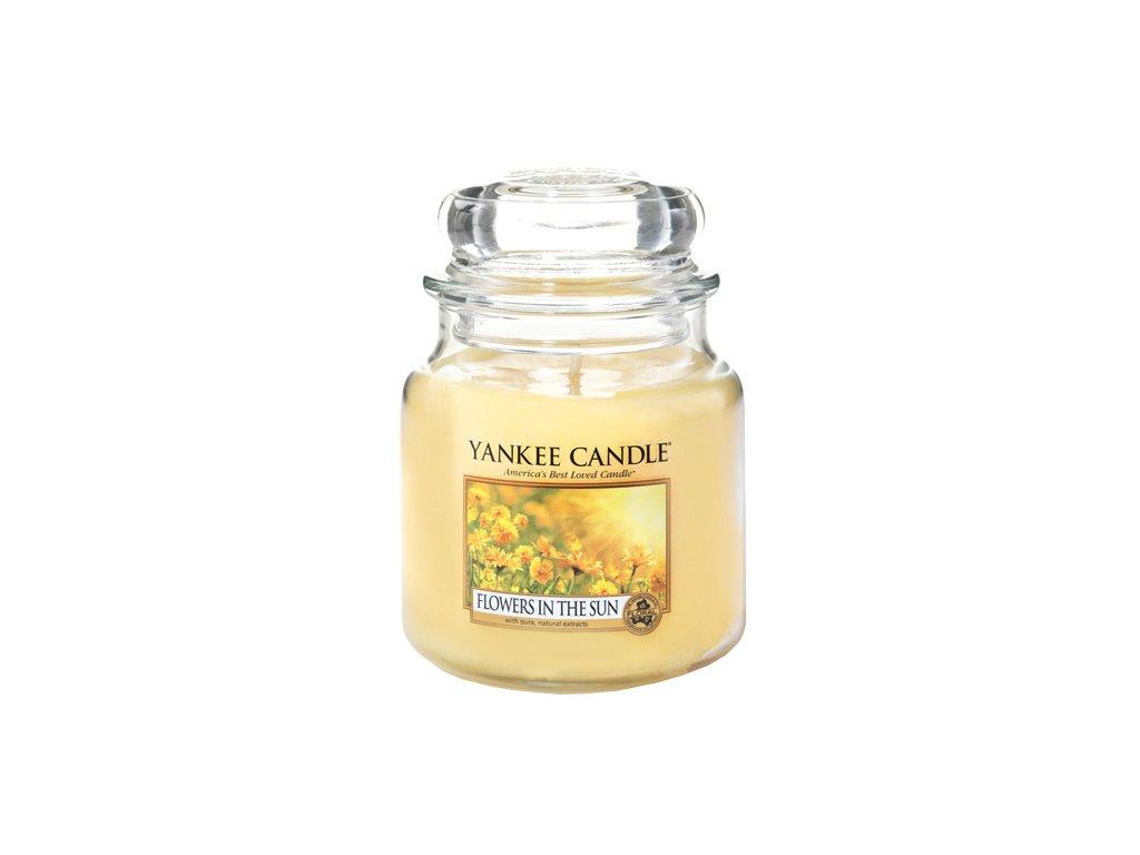 Yankee Candle Květiny na slunci, 410 g classic střední