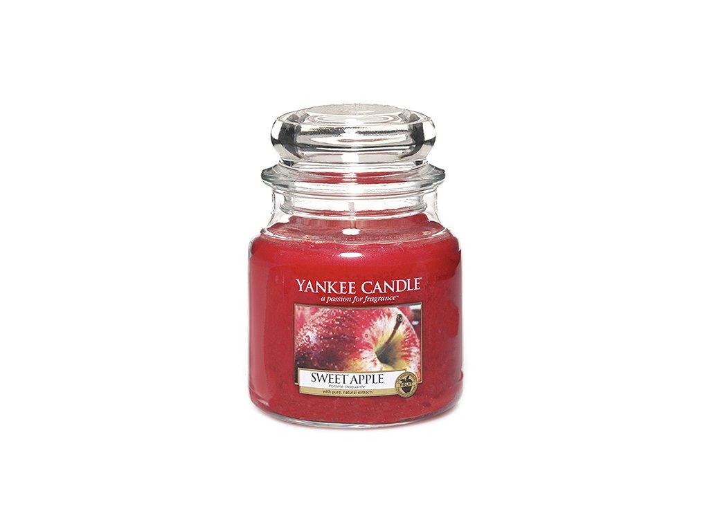 Yankee Candle Sladké jablko, 410 g classic střední