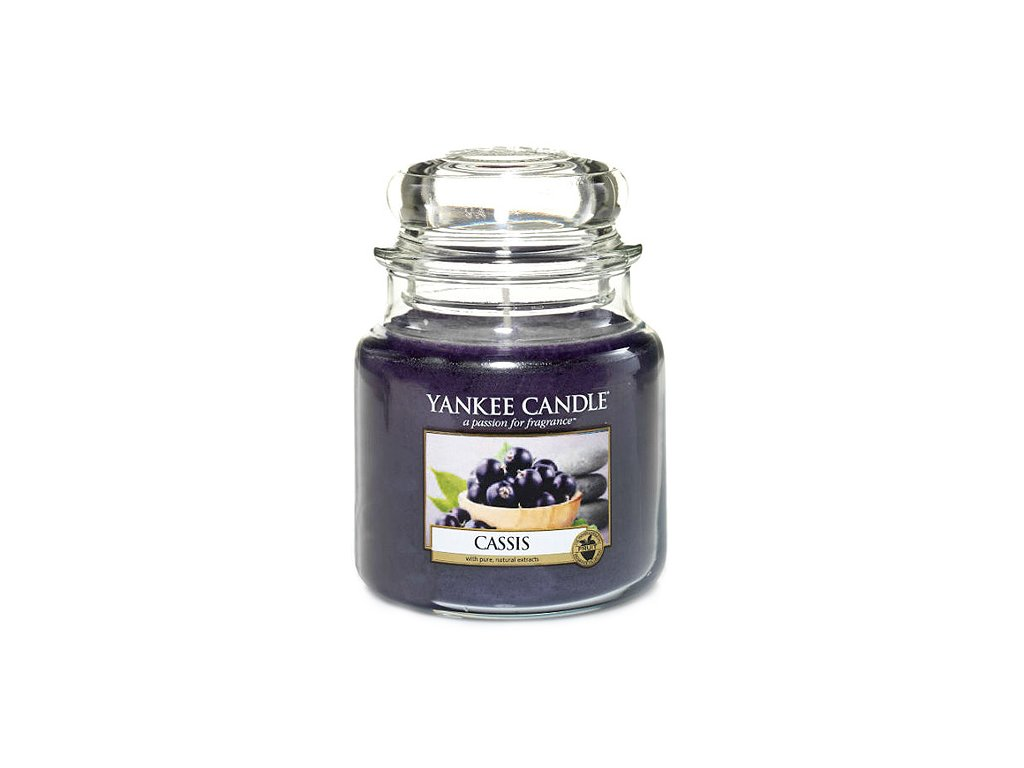 Yankee Candle Černý rybíz, 410 g classic střední