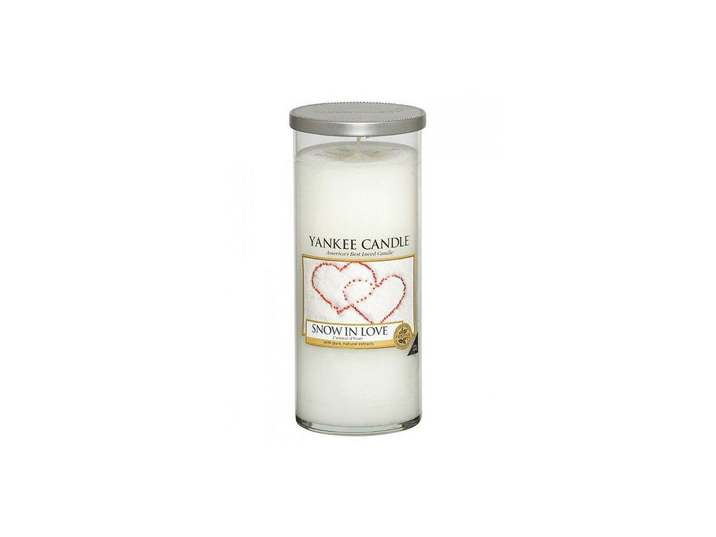 Yankee Candle Zamilovaný sníh, 538 g decor velký