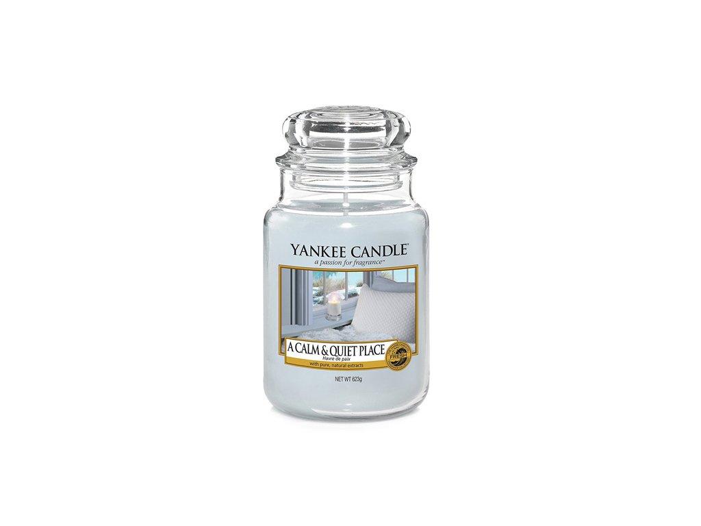 Yankee Candle Klidné a tiché místo, 623 g classic velký