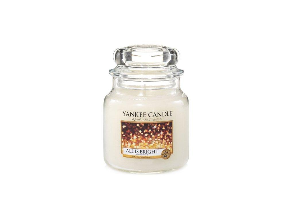 Yankee Candle Všechno jen září All is bright, 410 g classic střední