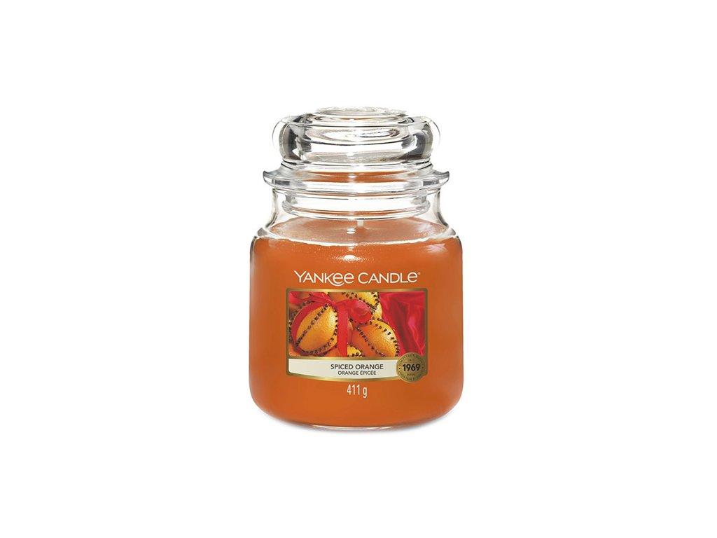 Yankee Candle Pomeranč se špetkou koření, 410 g classic střední