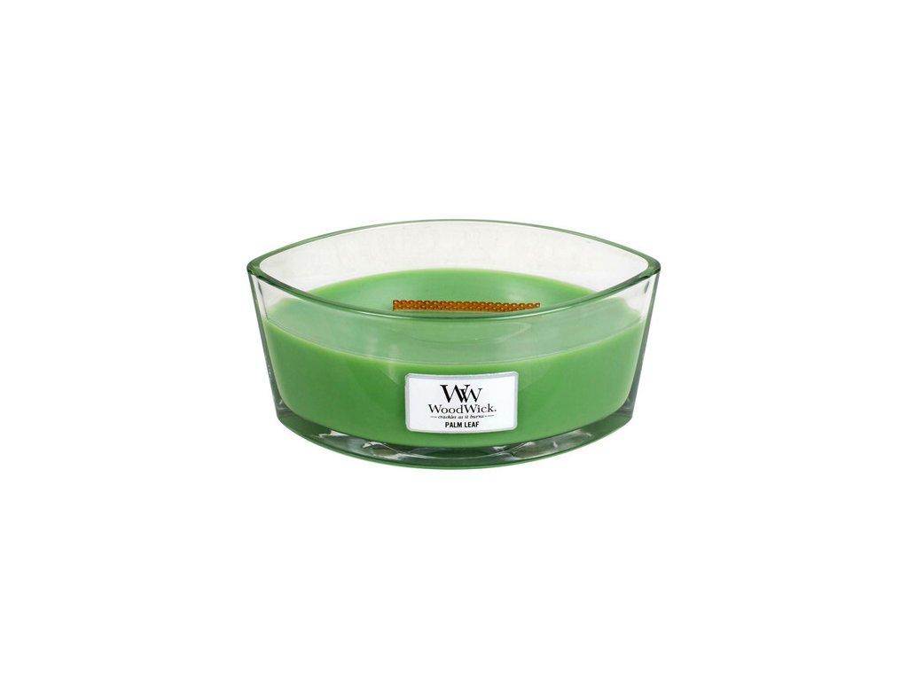 Svíčka dekorativní váza WoodWick Palmový list 453.6 g