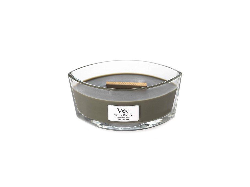 Svíčka dekorativní váza WoodWick Jedle 453.6 g