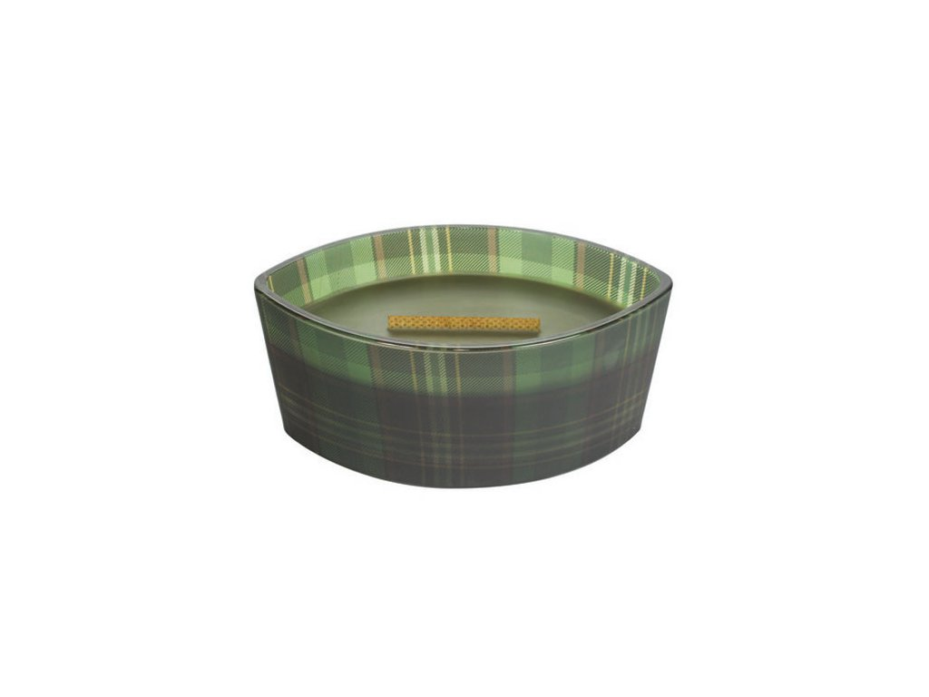 Svíčka dekorativní váza WoodWick Jedle kostka 453.6 g