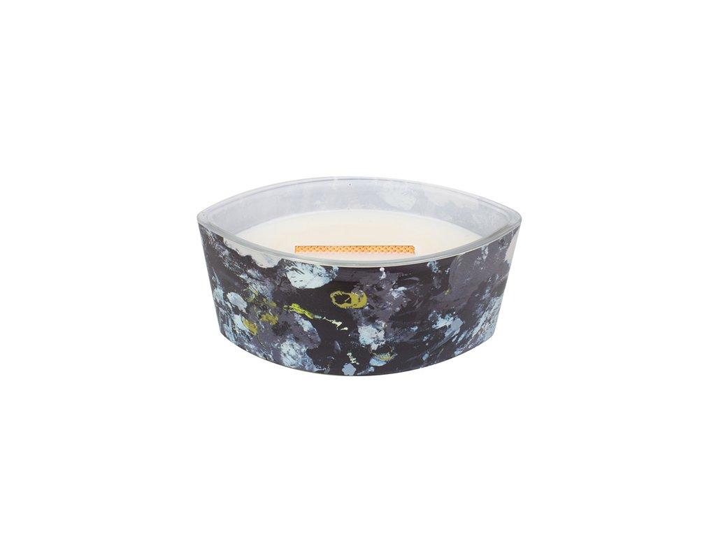 Svíčka dekorativní váza WoodWick Artisan - Ebenové dřevo 453,6 g