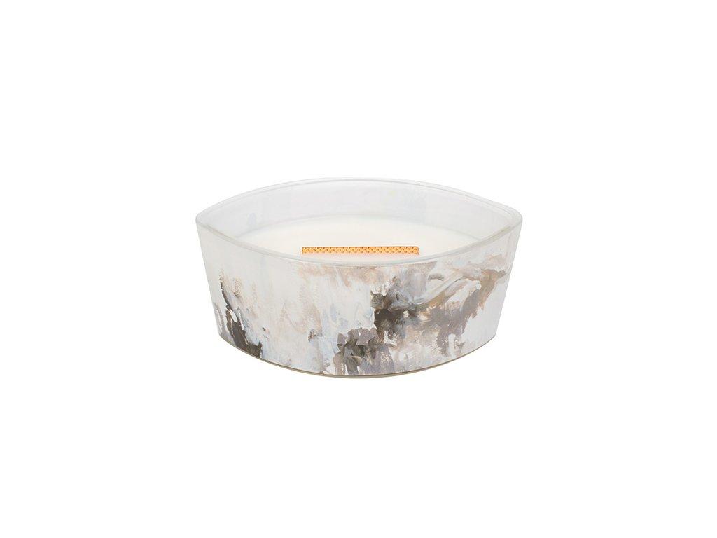 Svíčka dekorativní váza WoodWick Artisan - Medový tabák 453,6 g