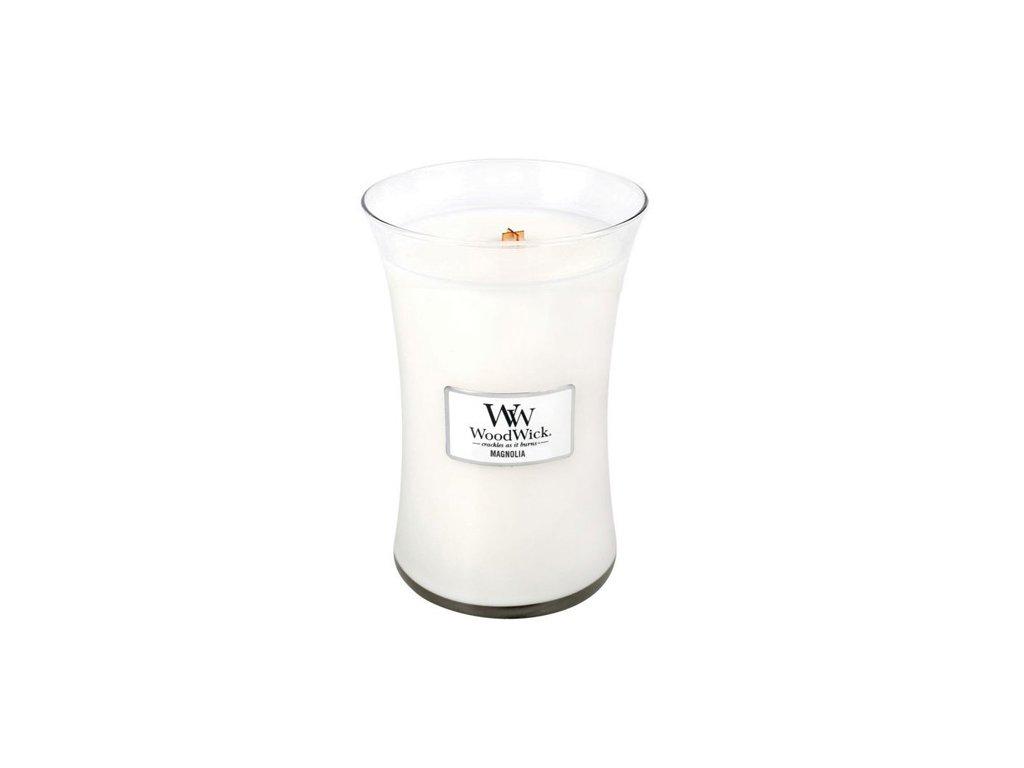 Svíčka oválná váza WoodWick Magnólie 609.5 g