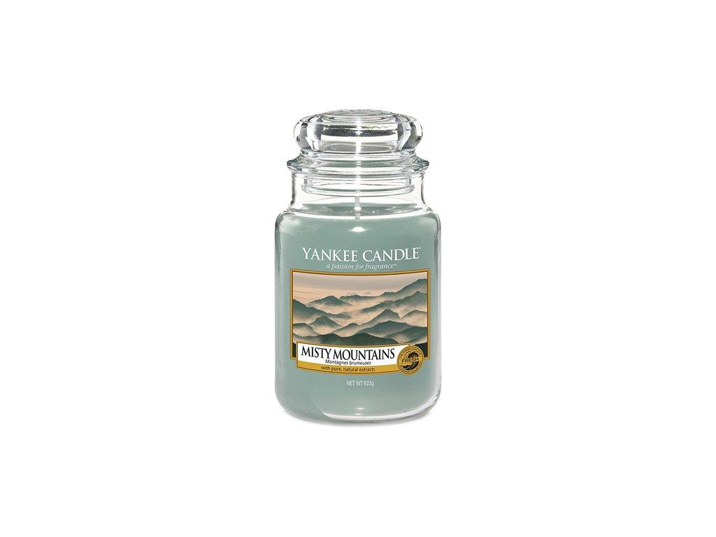 Yankee Candle Mlžné hory, 623 g classic velký