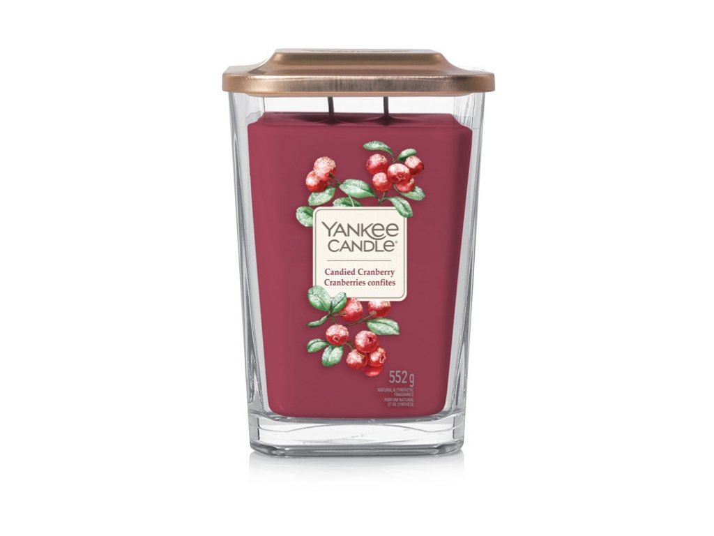 Yankee Candle Candied cranberry, 552 g elevation velký