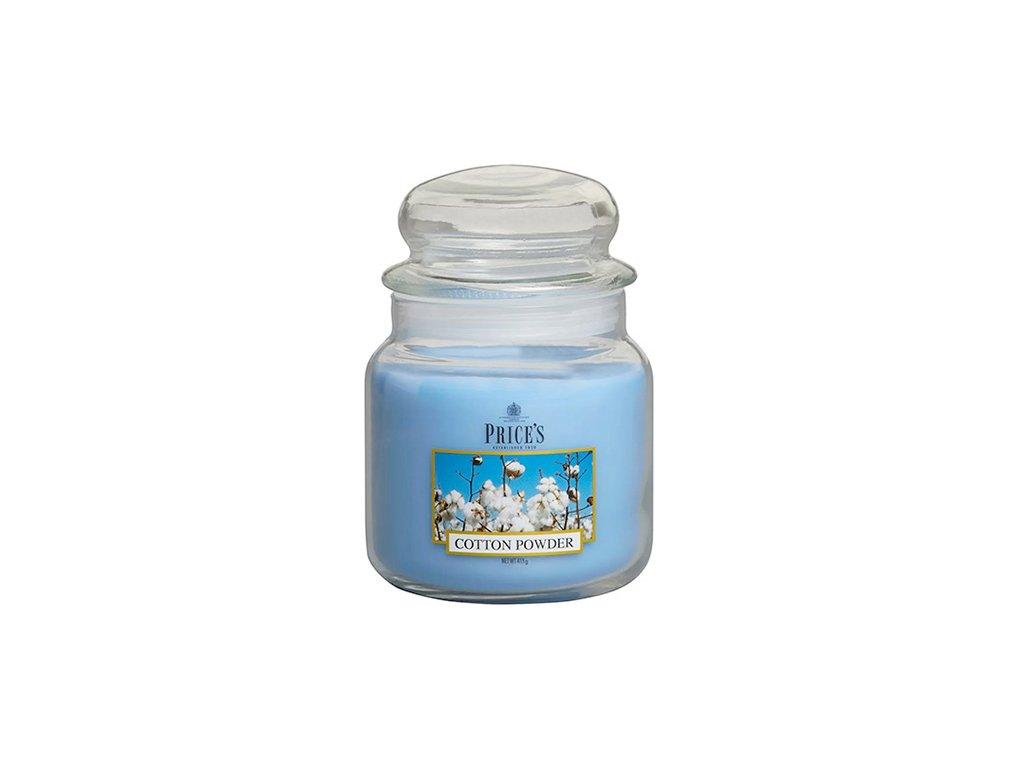 Svíčka ve skleněné dóze Price´s Candles Bavlna 411 g