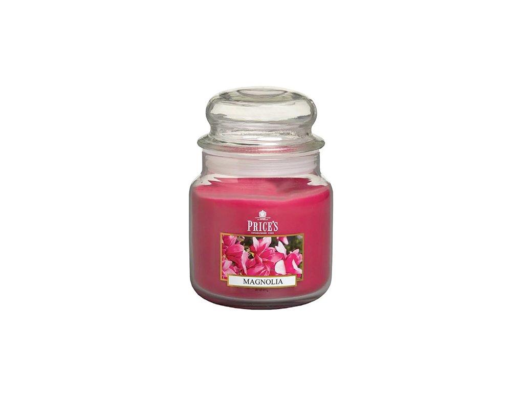 Svíčka ve skleněné dóze Price´s Candles Magnólie 411 g
