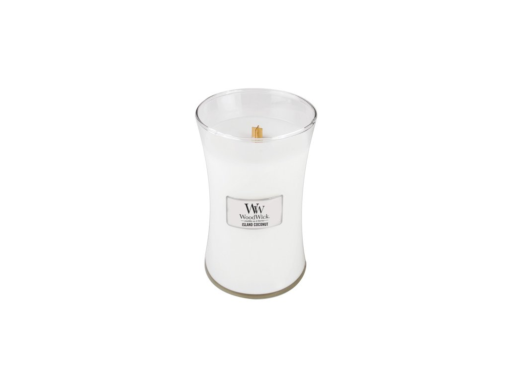 Svíčka Woodwick Kokosový ostrov 609.5 g