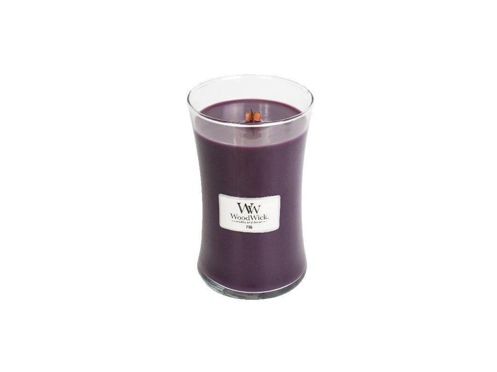 Svíčka oválná váza WoodWick Fík 609.5 g