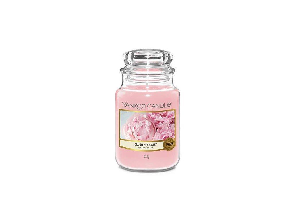 Yankee Candle Růžová kytice, 623 g classic velký