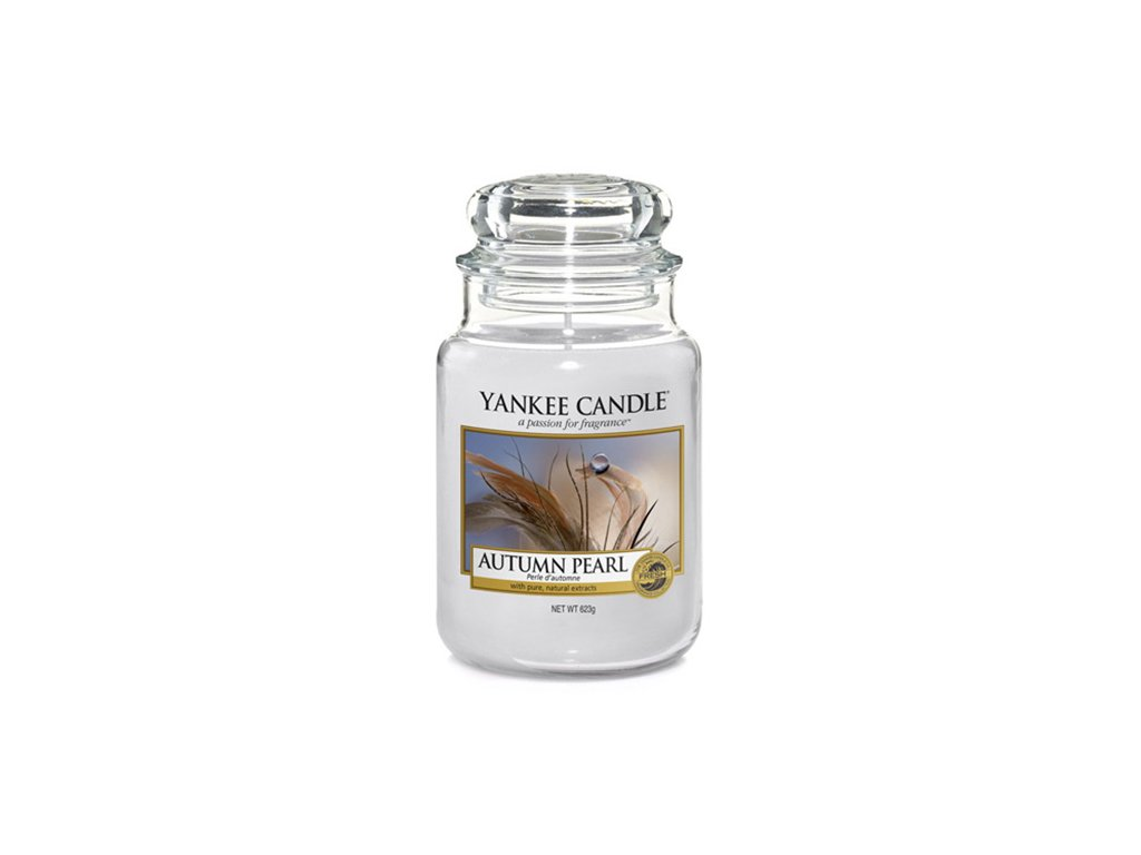 Yankee Candle Podzimní perla, 623 g classic velký