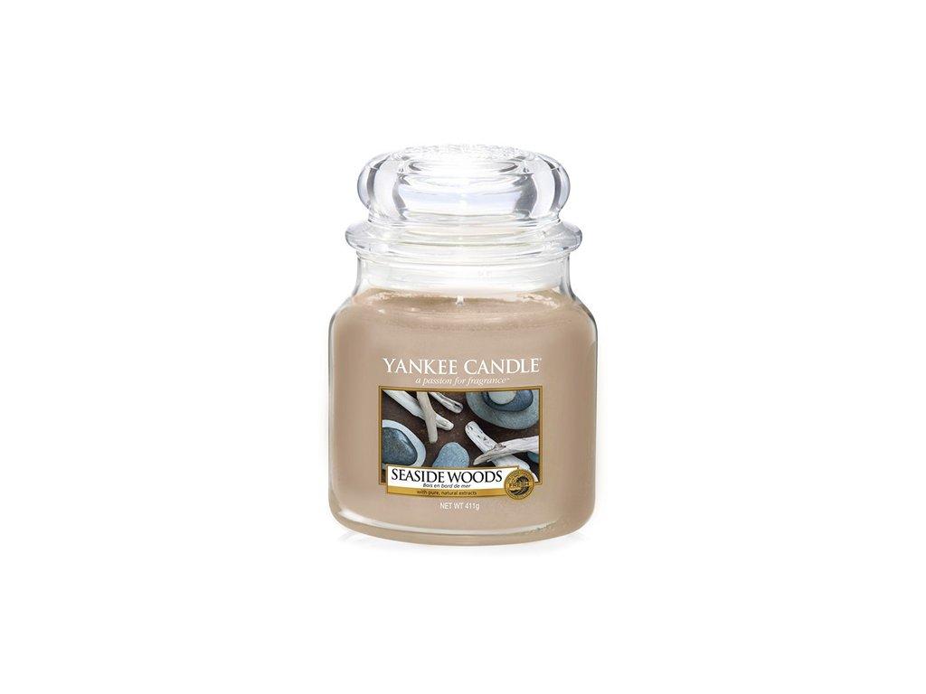 Yankee Candle Přímořská dřeva, 410 g classic střední