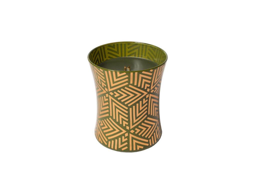 Svíčka oválná váza Jedle sváteční, 275 g