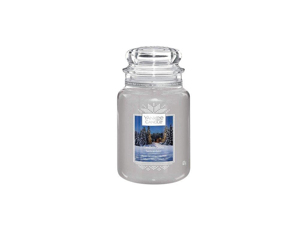 Yankee Candle Chata ozářena svíčkou, 623 g classic velký