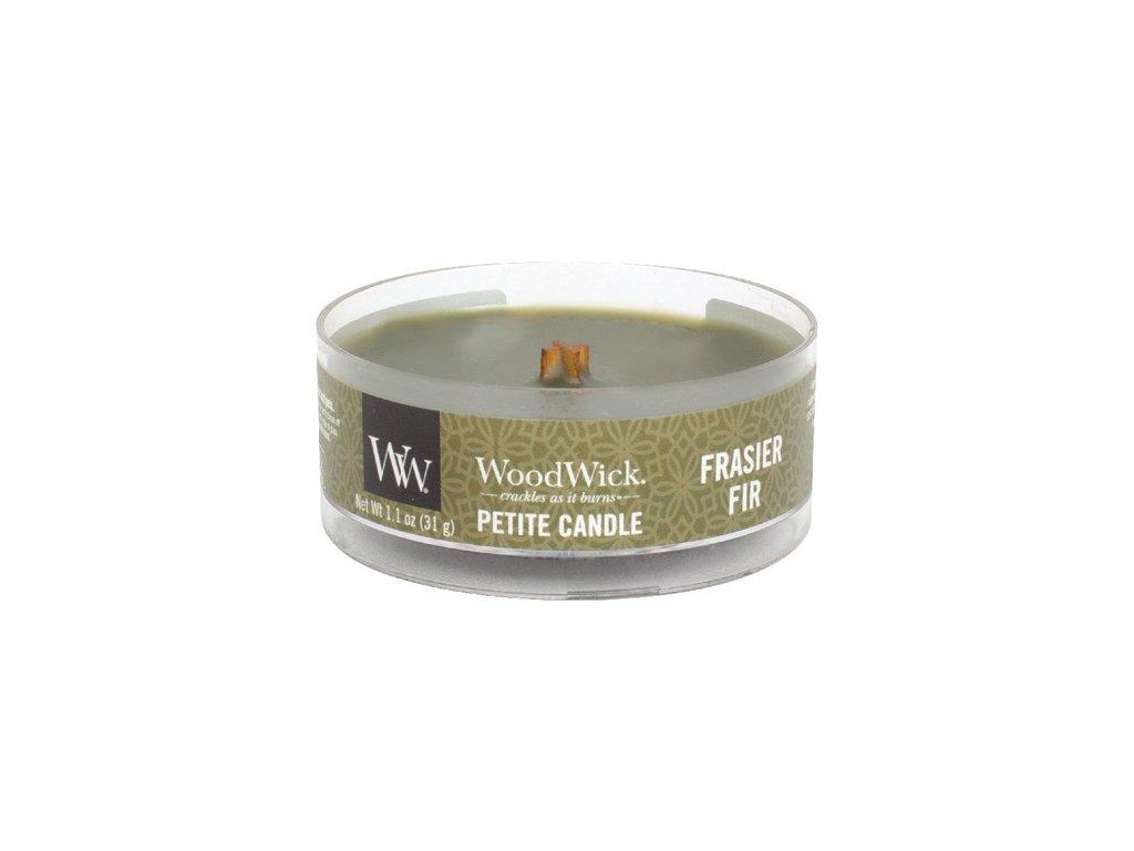Svíčka WoodWick petite Jedle, 31 g