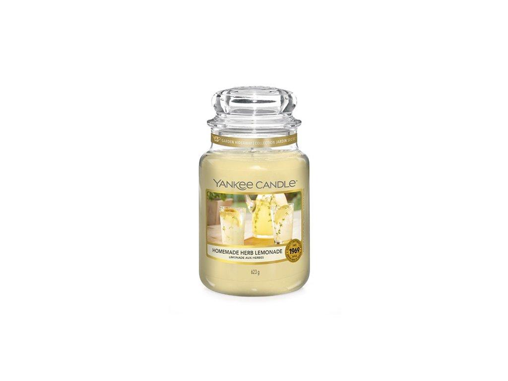Yankee Candle Domácí bylinková limonáda, 623 g classic velký