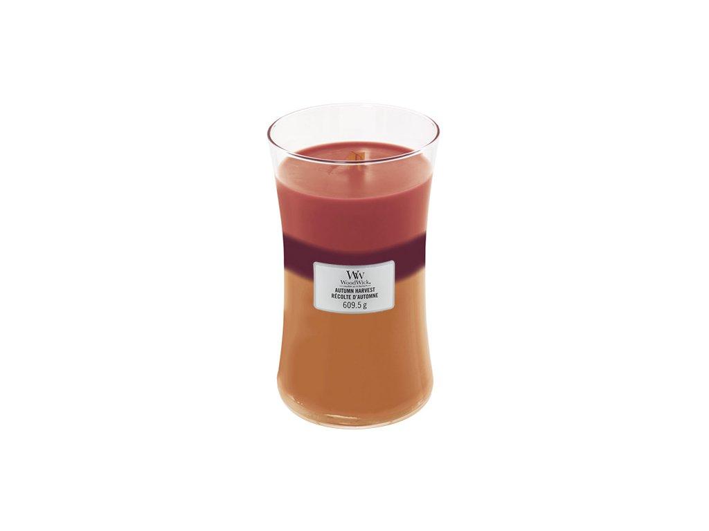 Svíčka Trilogy Woodwick 609.5 g Podzimní sklizeň