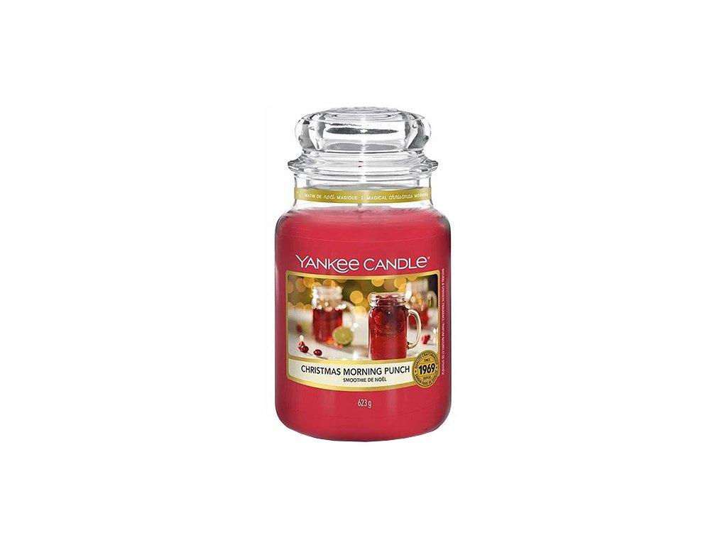 Yankee Candle Ranní vánoční punč, 623 g classic velký