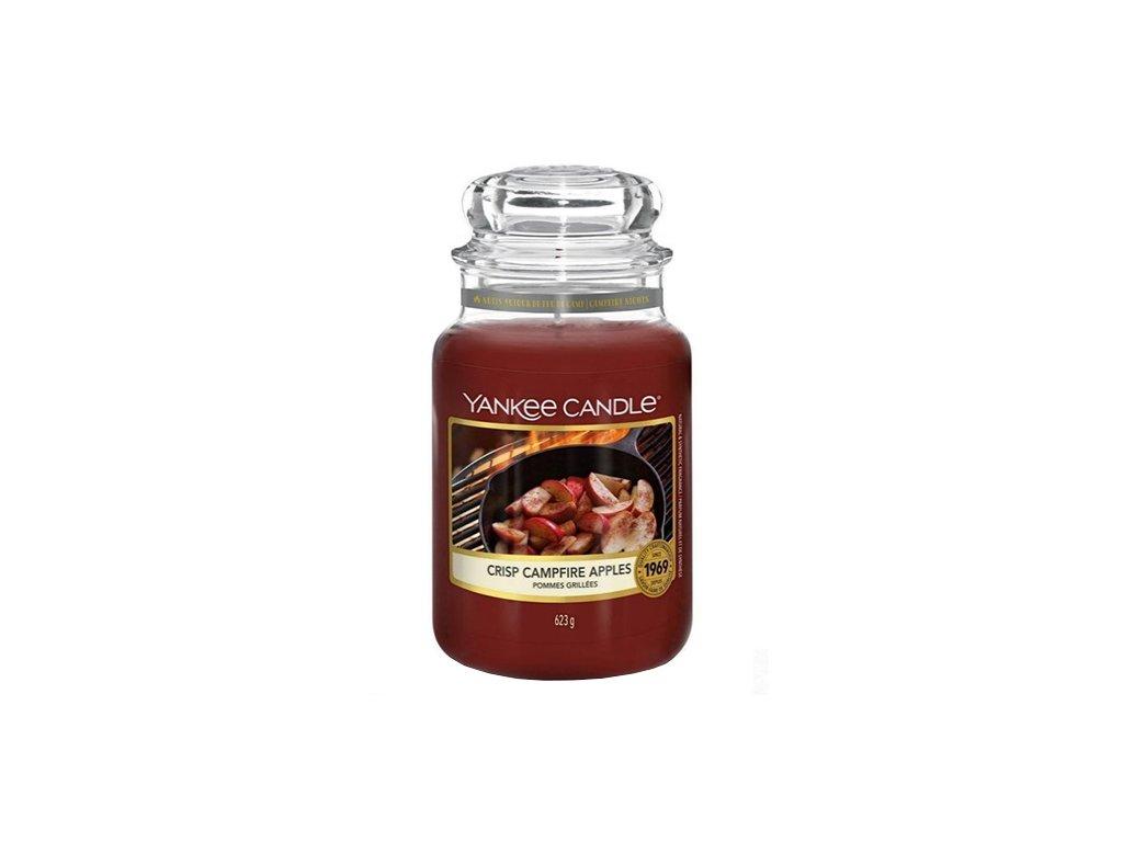 Yankee Candle Jablka pečená na ohni, 623 g classic velký