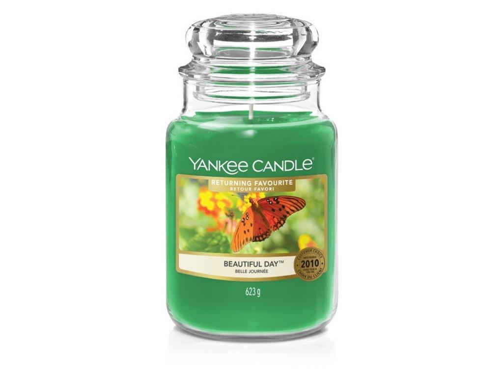Yankee Candle Beautiful day, 623 g classic velký